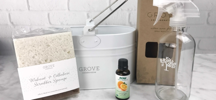 Grove Collaborative Subscription Box Review & Coupon – January 2017