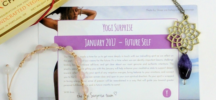 Yogi Surprise Jewelry Box January 2017 Subscription Review