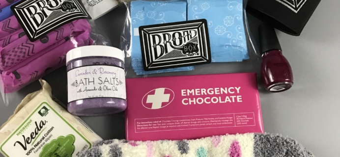 Broad Box Subscription Box Review + Coupon – January 2017