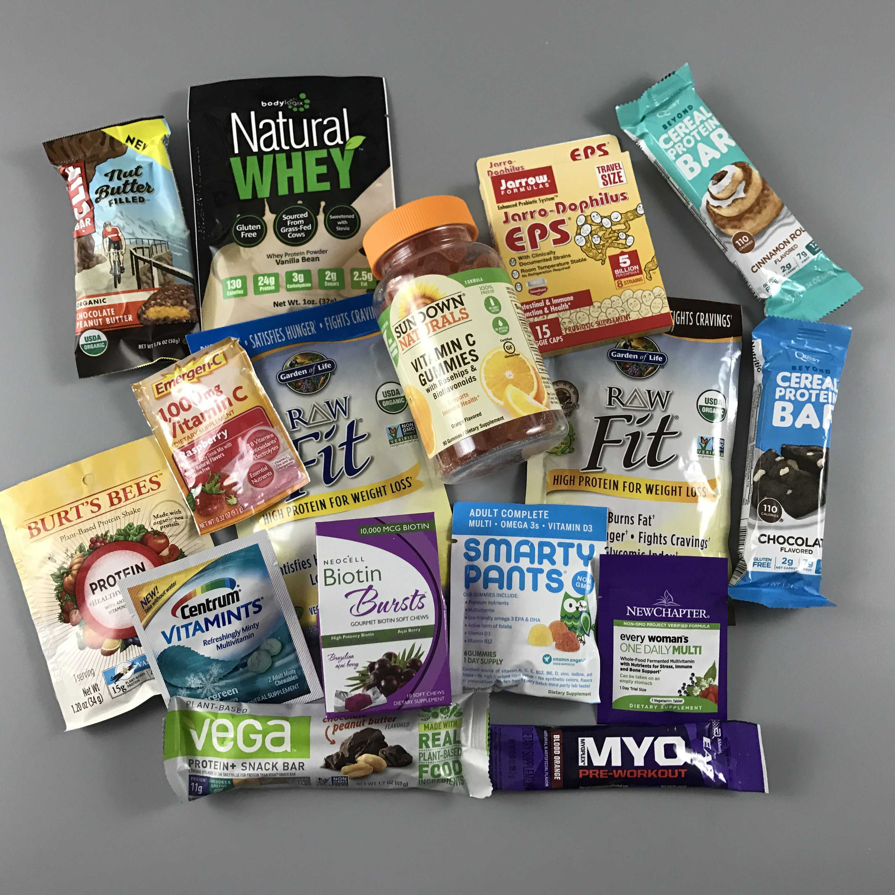Amazon New Year, New You Prime Sample Box Review