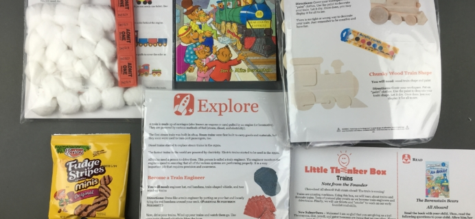 December 2016 Little Thinker Box Subscription Box Review