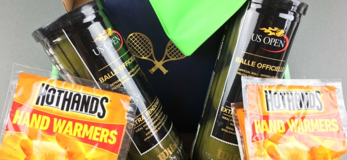 Tennis Trunk January 2017 Subscription Box Review & Coupon