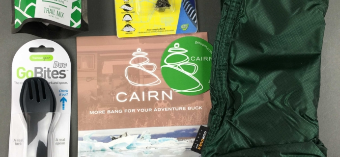 Cairn December 2016 Subscription Box Review