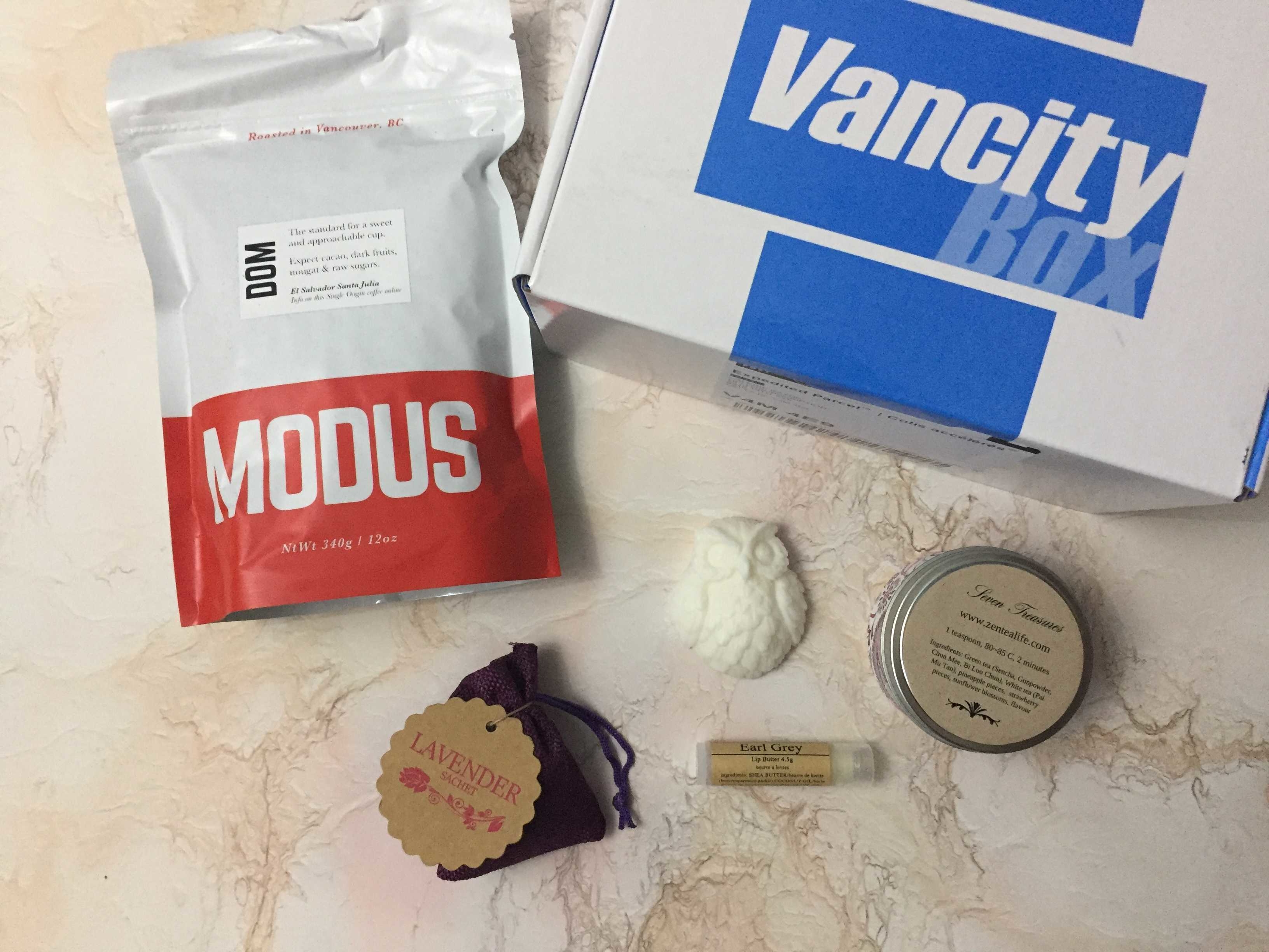 Vancity Box January 2017 Subscription Box Review + Coupon