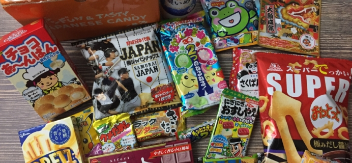Tokyo Treat January 2017 Subscription Box Review & Coupon
