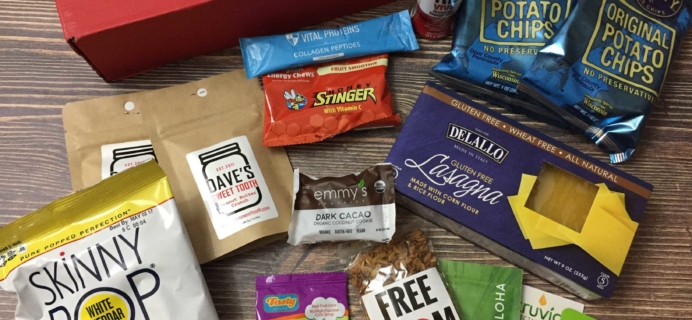 Love With Food Gluten-Free January 2017 Subscription Box Review + Coupon