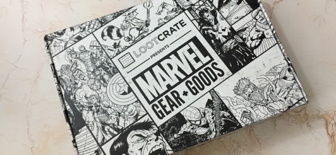 Marvel Gear + Goods January 2017 Subscription Box Review + Coupon!
