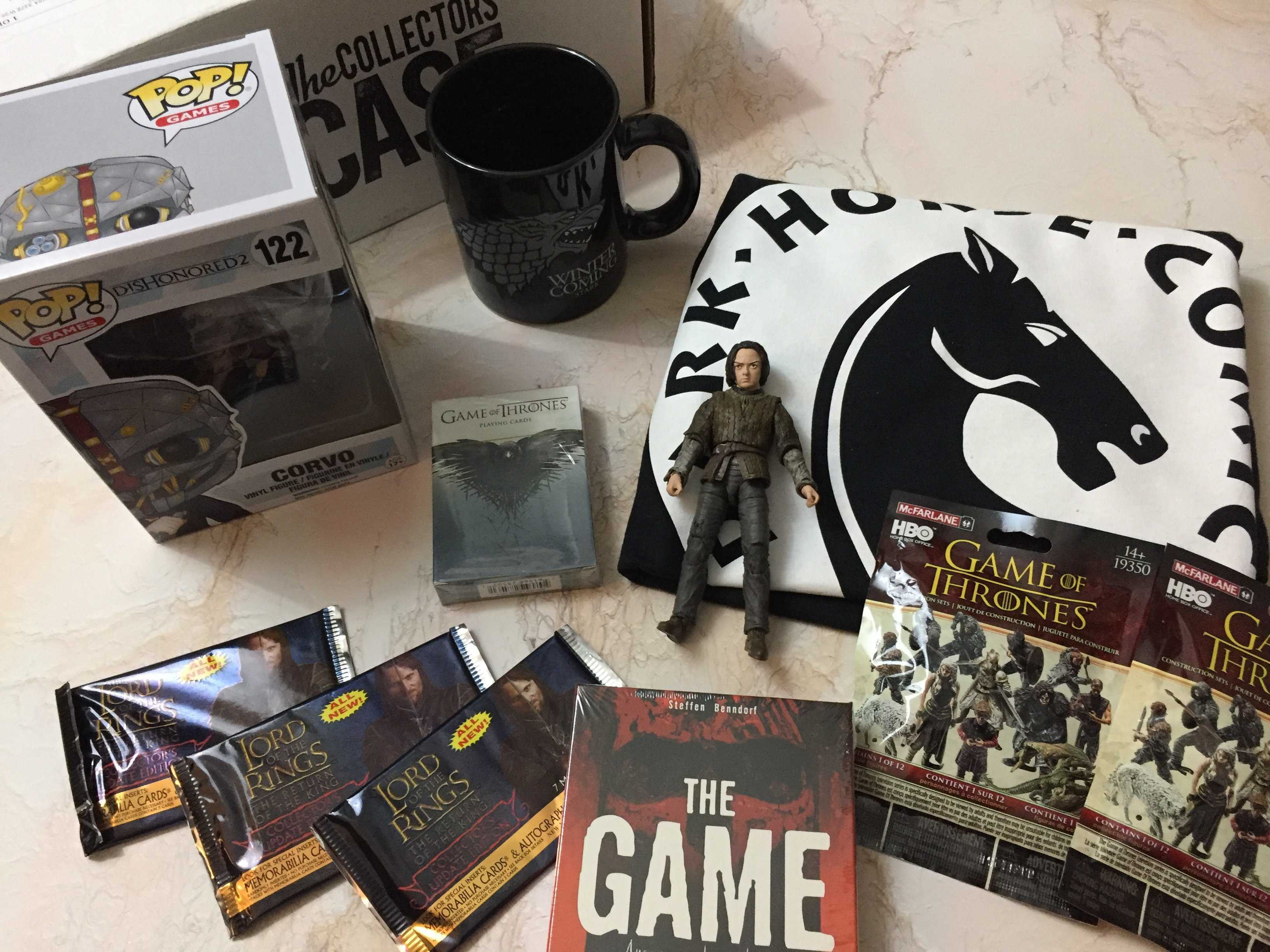 The Collectors Case January 2017 Subscription Box Review