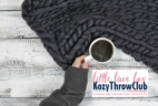 LLB Kozy Throw Club from Little Lace Box Now Available!