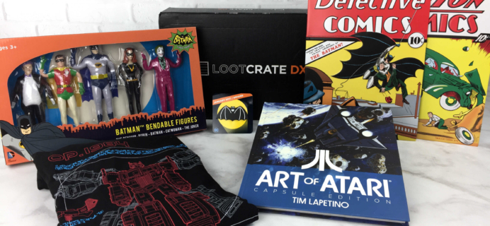 Loot Crate DX January 2017 Subscription Box Review & Coupon