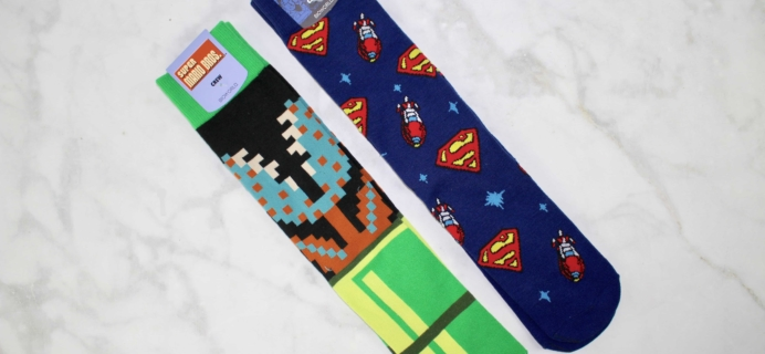 Loot Socks by Loot Crate January 2017 Subscription Box Review & Coupon