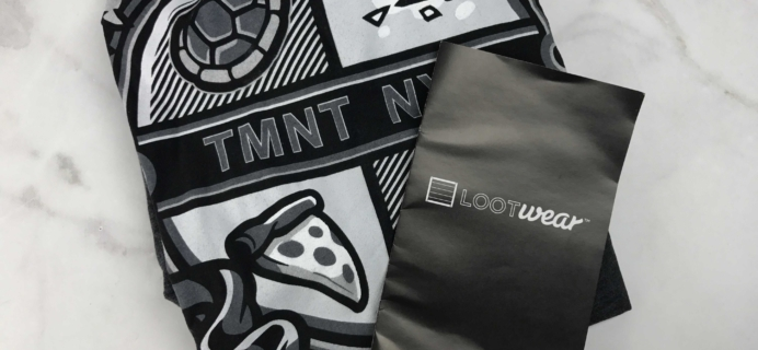 Loot Tees January 2017 Review & Coupon