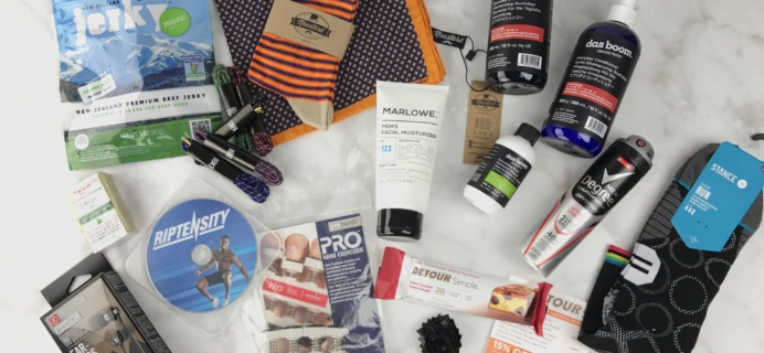 Men's Health Box January 2017 Subscription Box Review