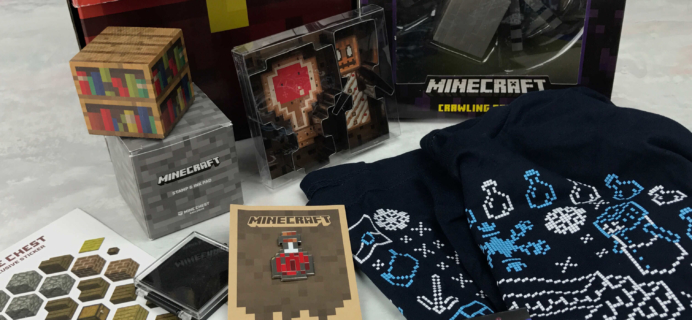 Mine Chest December 2016 Subscription Box Review