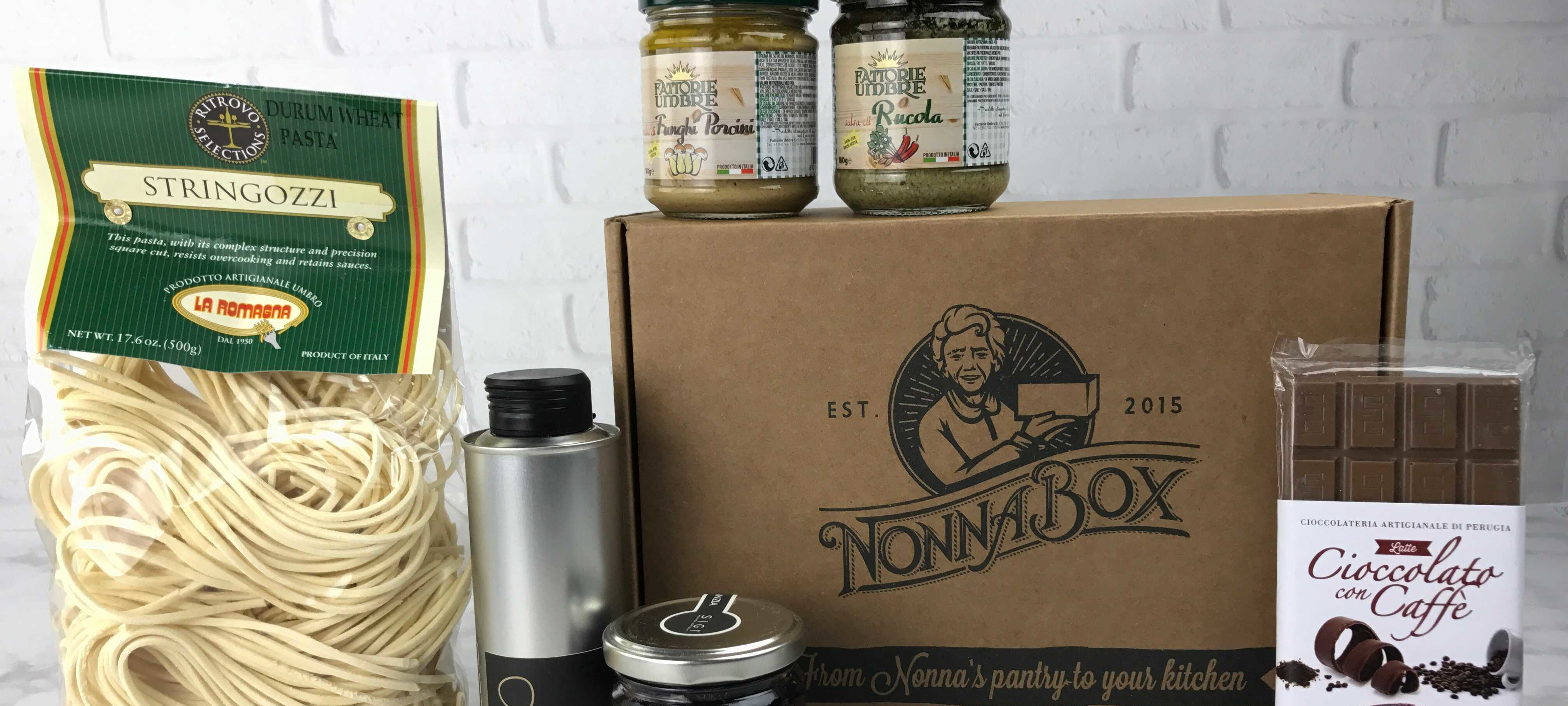 Nonna Box January 2017 Subscription Box Review + Coupon