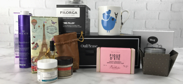 Oui Please January 2017 Subscription Box Review: Vol. 2.5 Winter In France