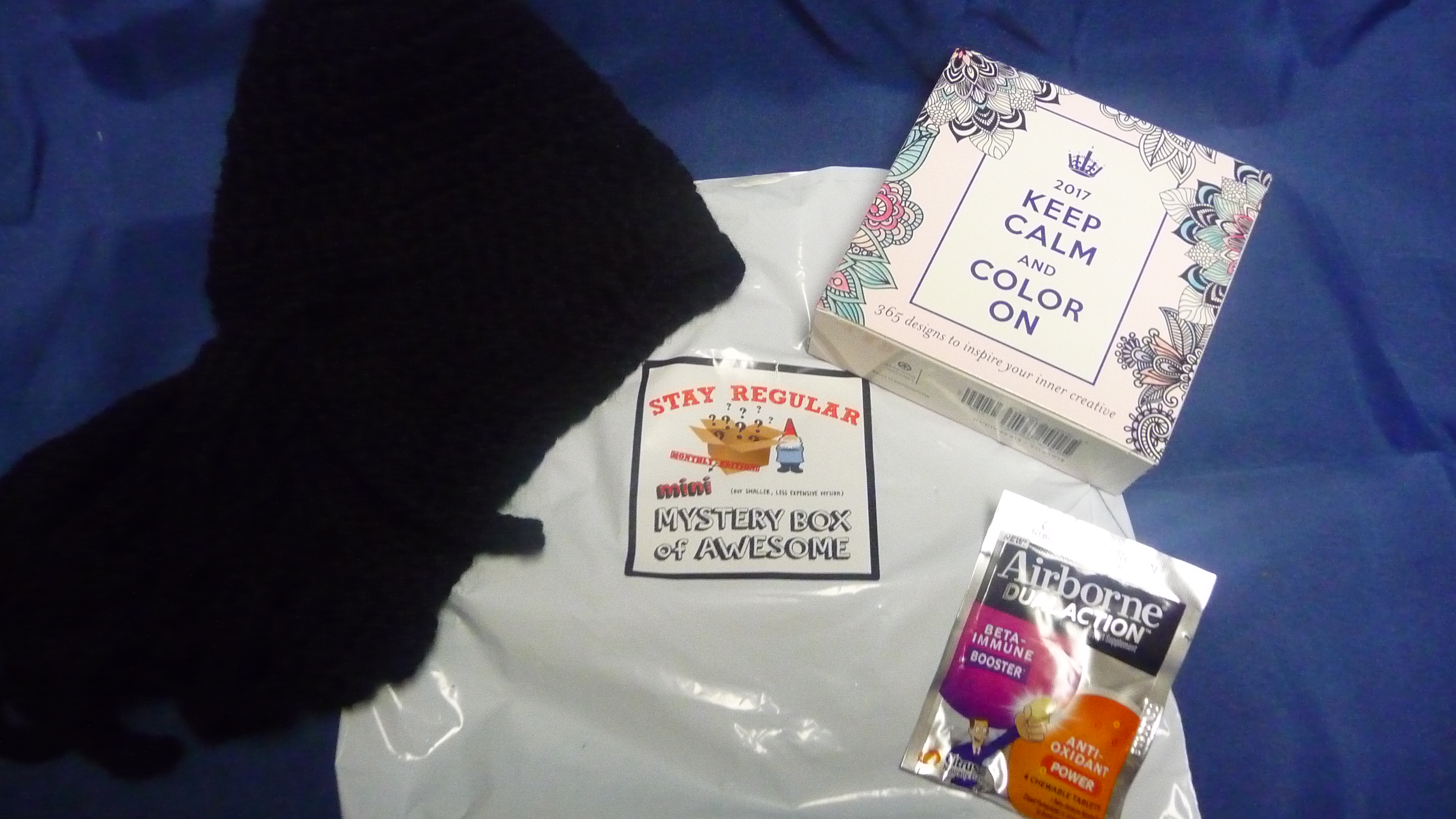 January 2016 Mini Monthly Mystery Box of Awesome Subscription Box Review