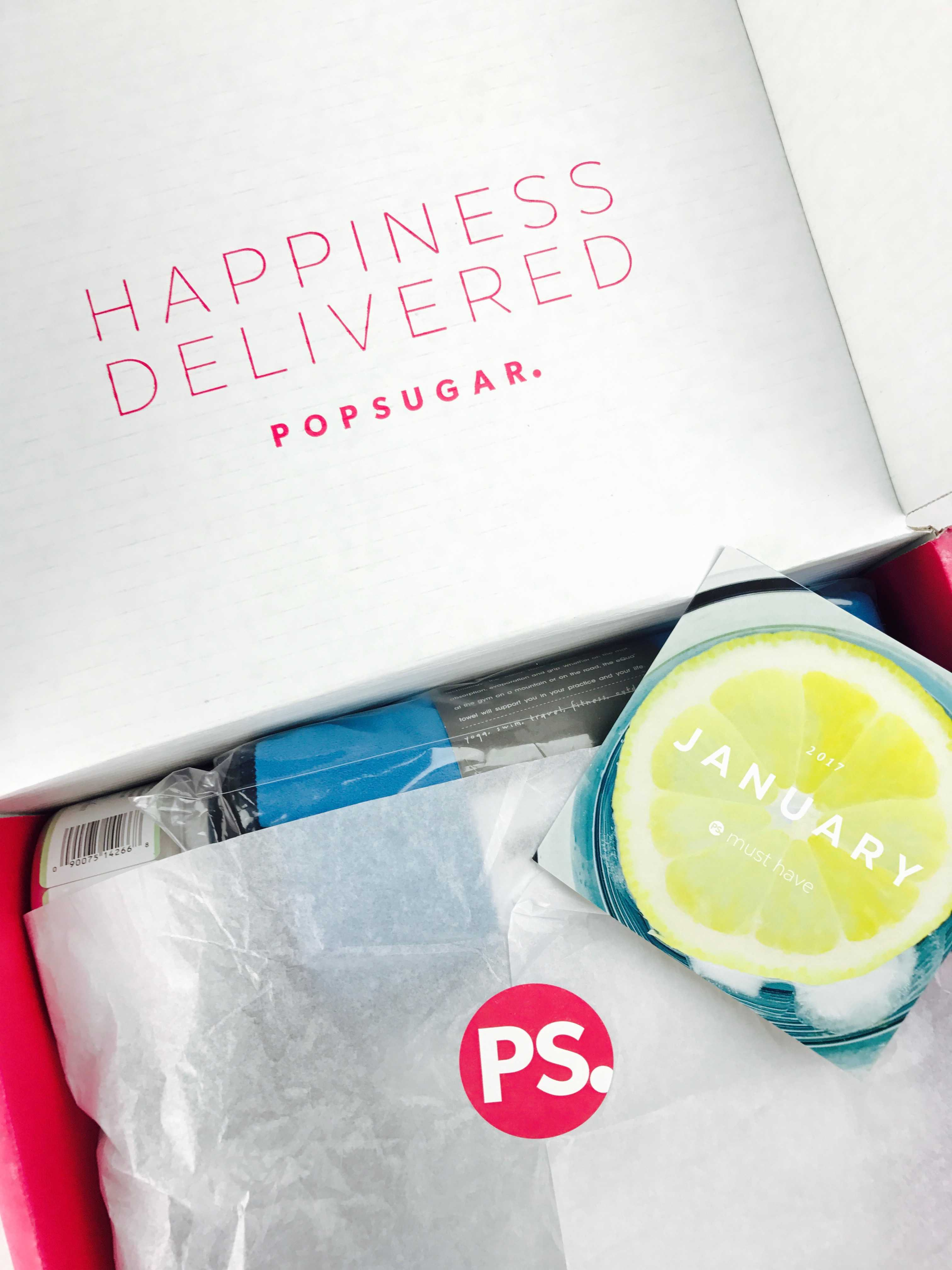 Popsugar Must Have Resort Box Review: POPSUGAR Must Have Box
