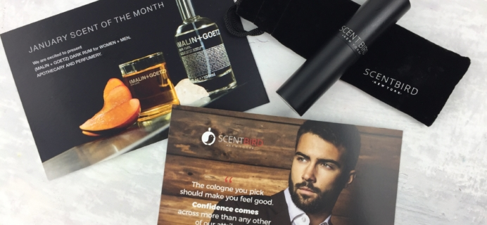 Scentbird for Men December 2016 Subscription Review & Coupon