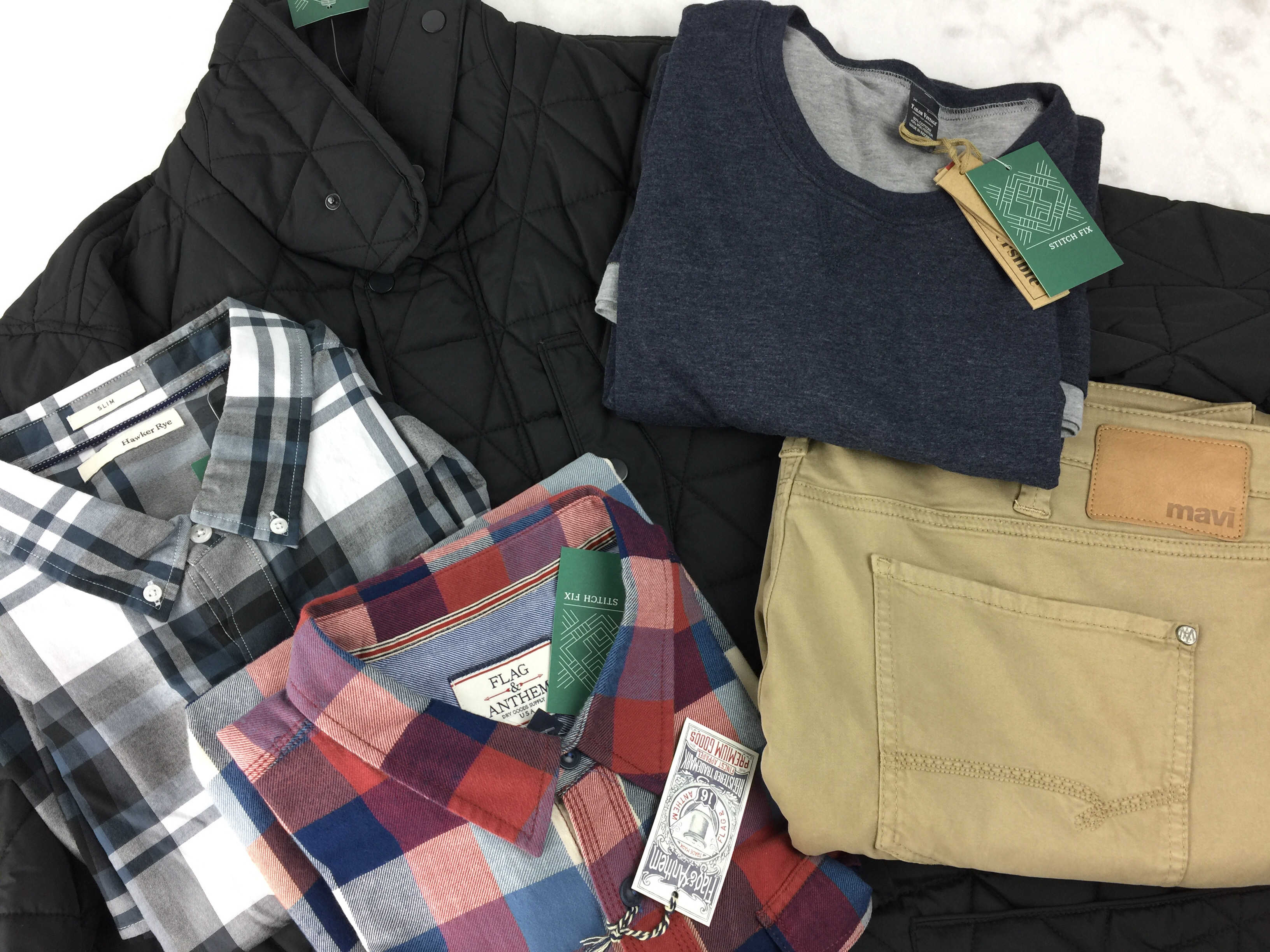 Stitch Fix Men February 2017 Review