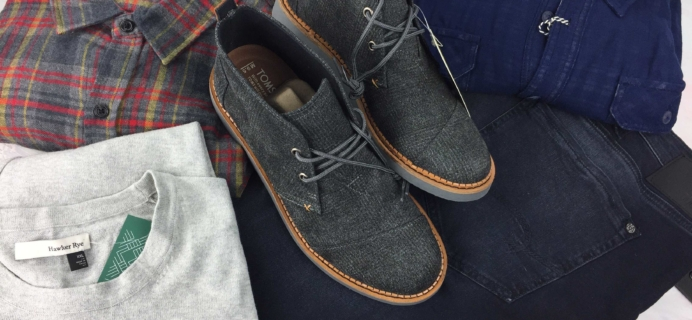 Stitch Fix Men January 2017 Review