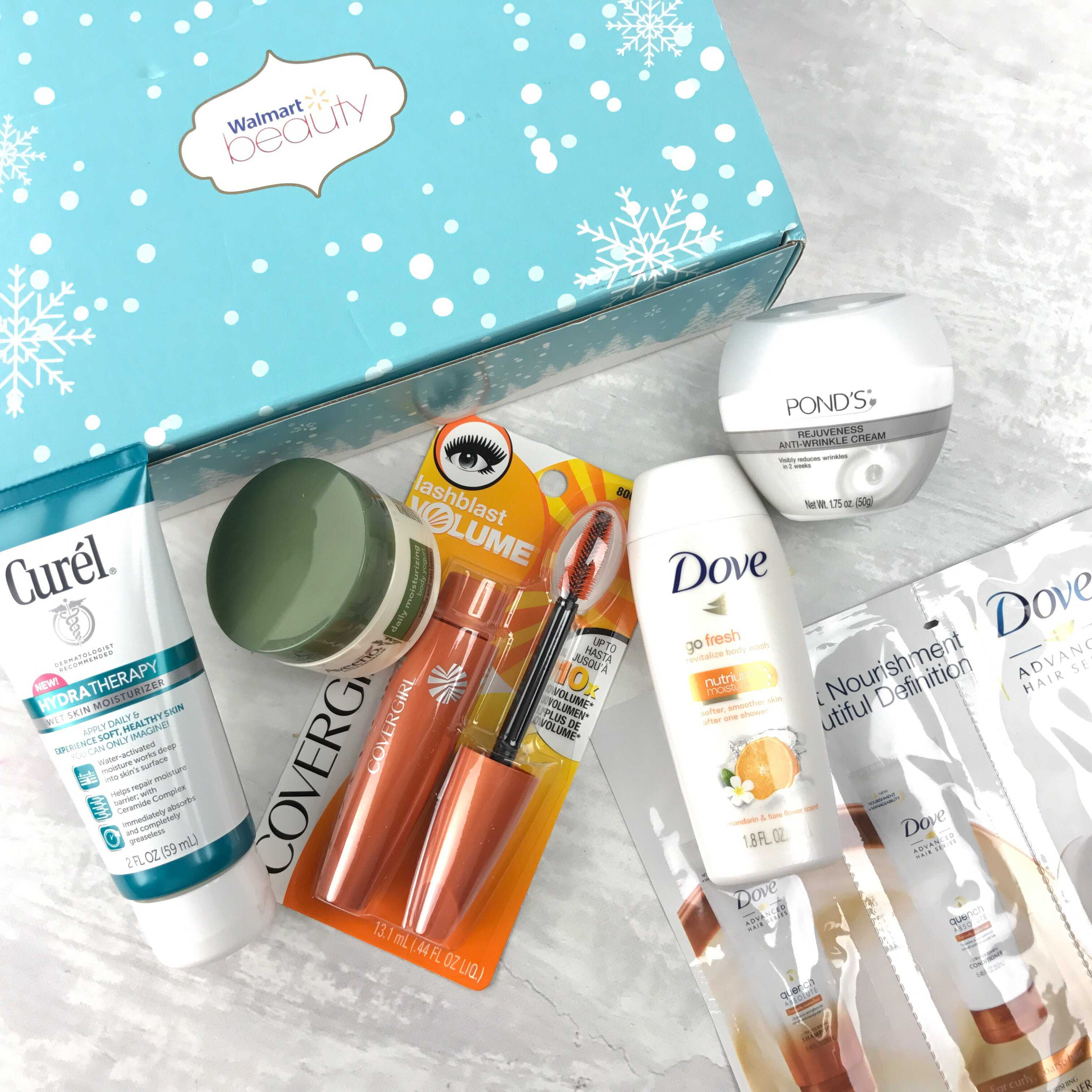 Walmart Beauty Box Winter 2016 Subscription Box Review