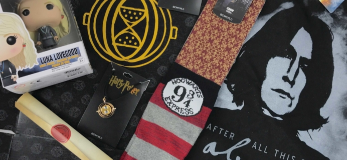 Wizarding World Crate Review + Coupon – January-February 2017