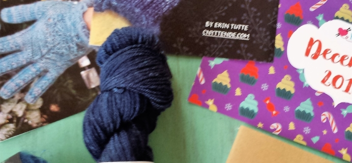 Yarn Crush Subscription Box Review & Coupon – December 2016