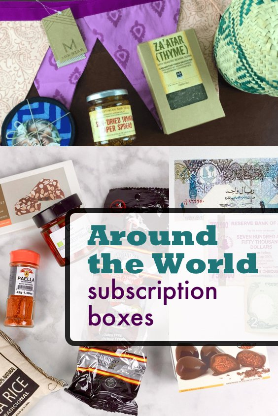 Travel The World In A Box: Best Around The World Subscription Boxes