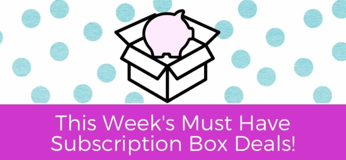This Week's 10 Best Subscription Box Deals to LOVE!
