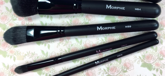 MorpheMe Brush Club January 2017 Subscription Box Review + Free Brush Coupon!