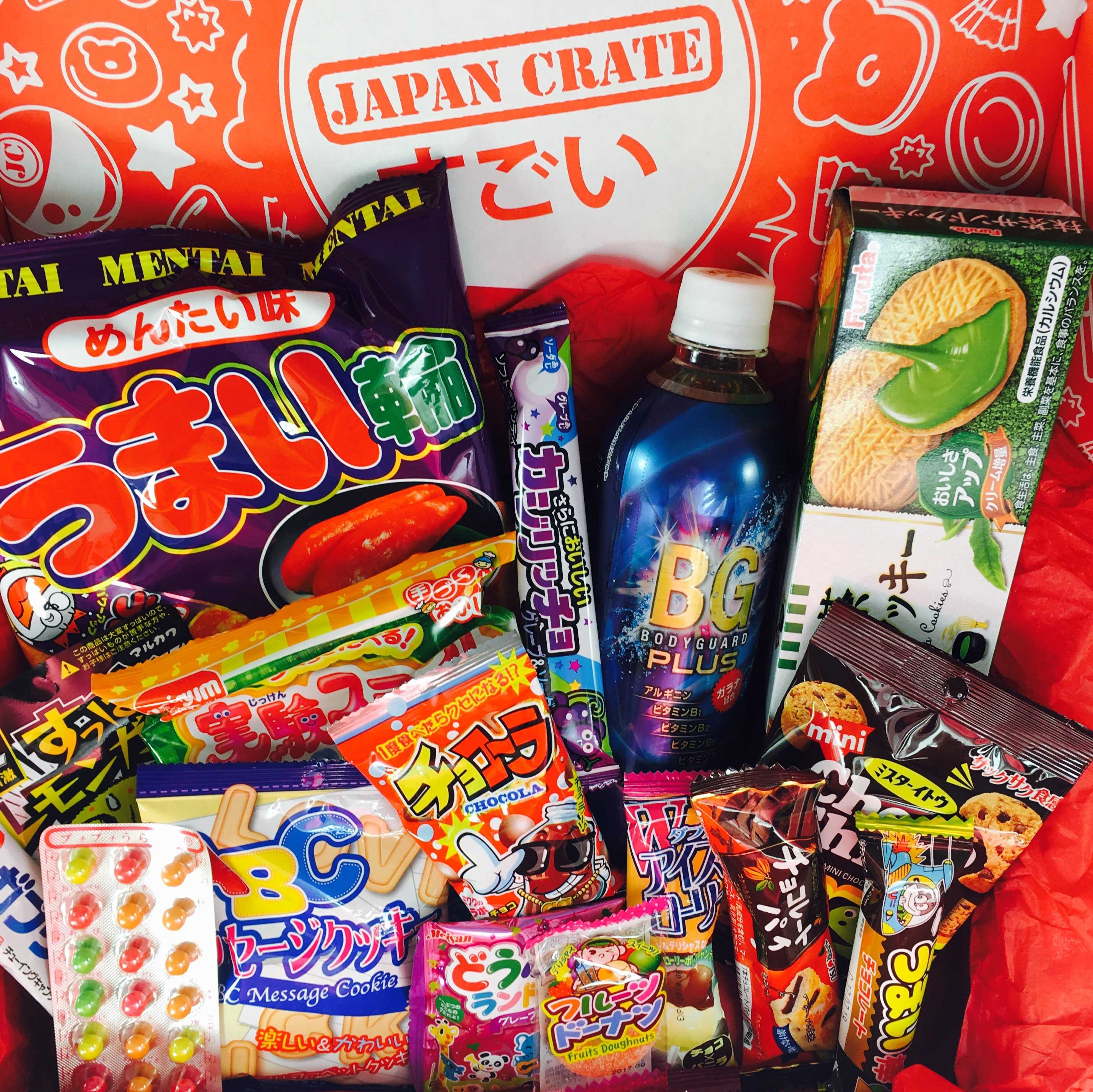 Japan Crate January 2017 Subscription Box Review + Coupon