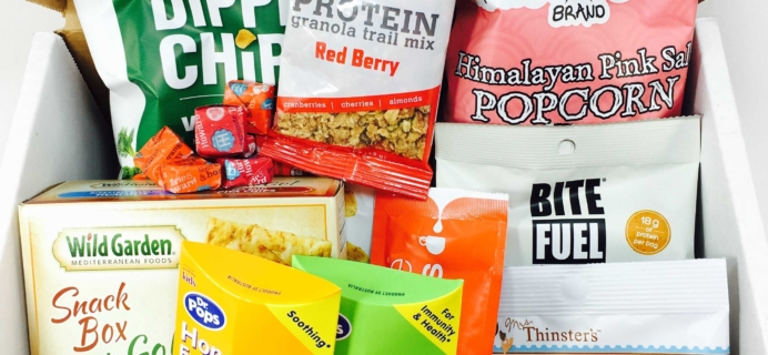 Snack Sack January 2017 Subscription Box Review & Coupon