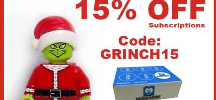 Brick Loot Coupon: 15% Off Subscriptions!