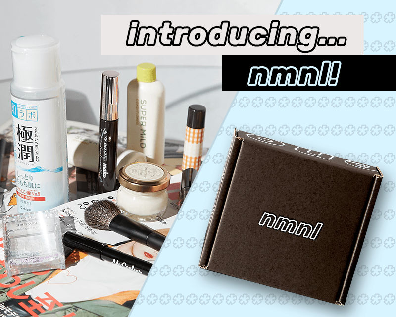 nmnl Japanese Beauty Box Available Now + Coupon!