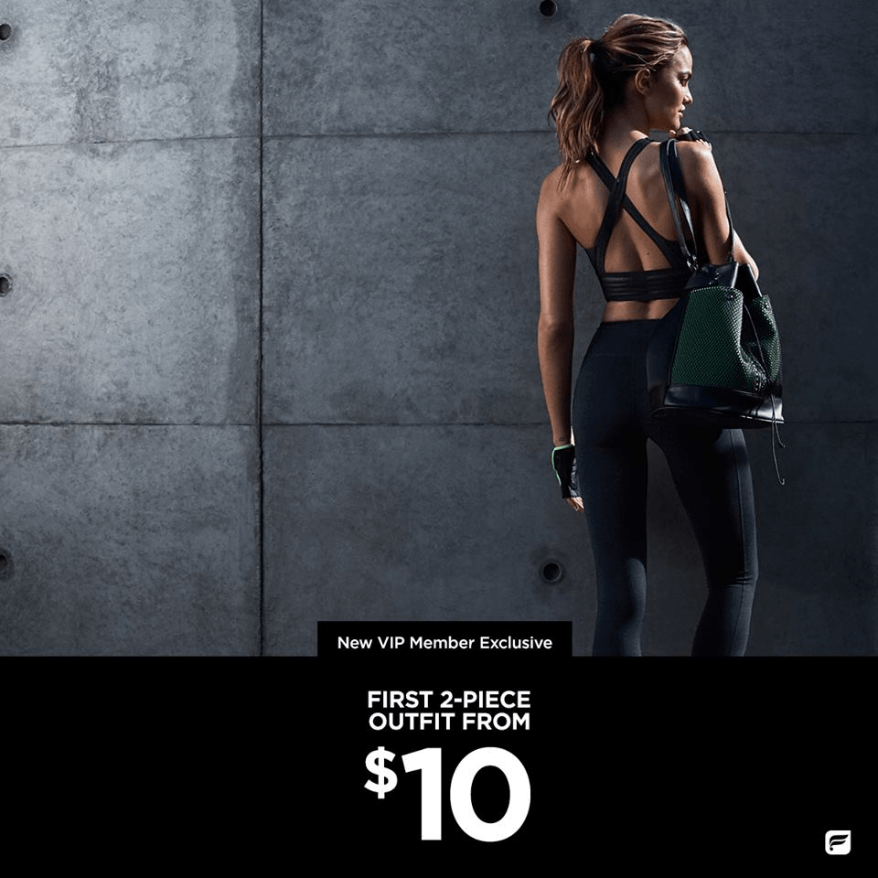 LAST DAY Fabletics Best Deal EVER: First Workout Outfit $10!
