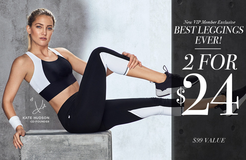 New Fabletics Deal: 2 Pairs of Leggings for $24!