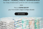 New Classic Patterns + $20 Off First Honest Company Diaper Bundle!