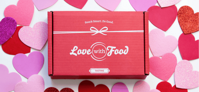 Love With Food Flash Sale: HALF OFF First Box Coupon!