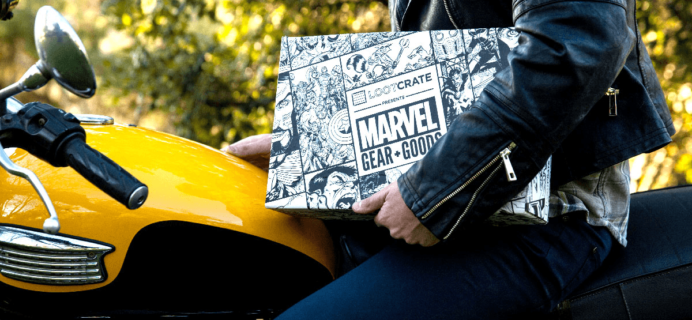 Loot Crate Marvel Gear + Goods March 2017 Full Spoilers!