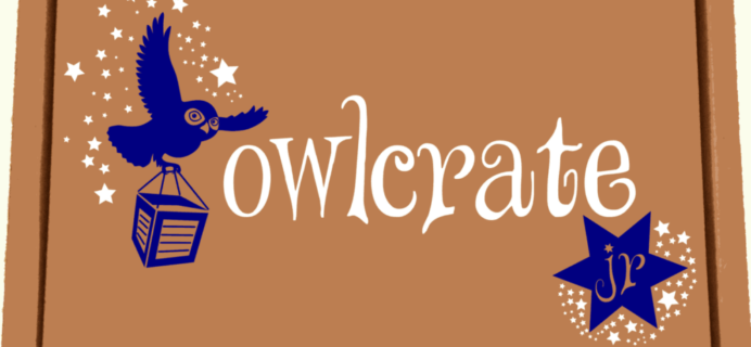 OwlCrate Jr. Now Available + March 2017 Theme Spoilers!