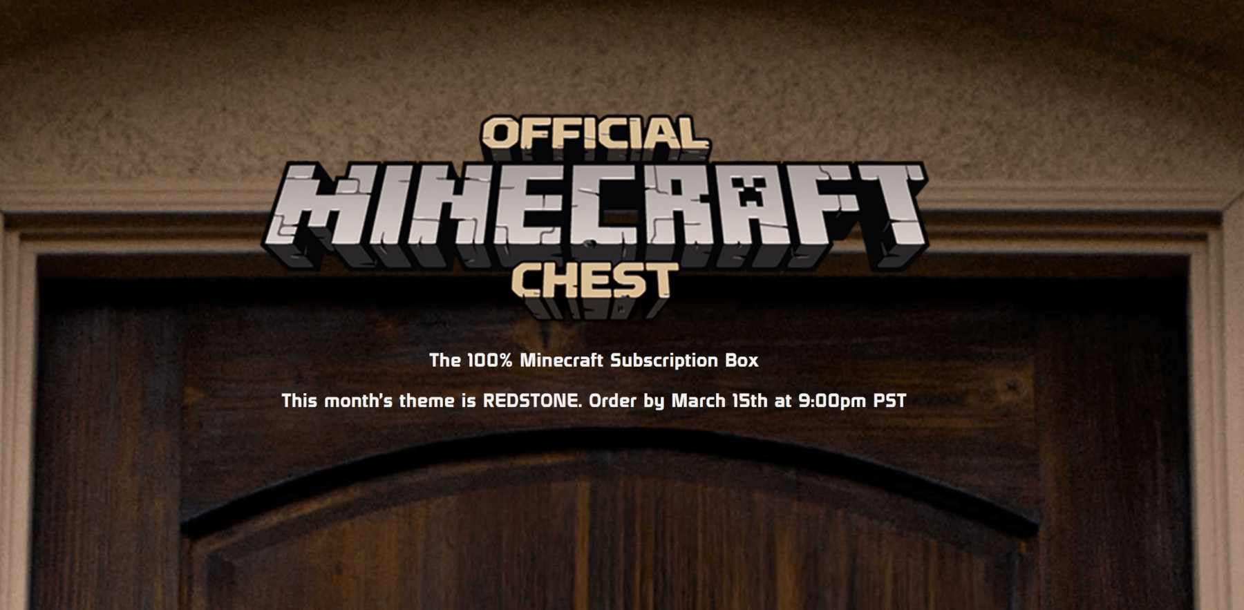 Mine Chest March 2017 Theme Spoilers!