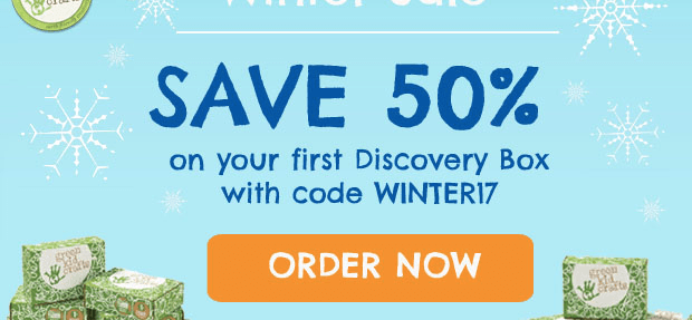 Green Kid Crafts Coupon: 50% off First Box!