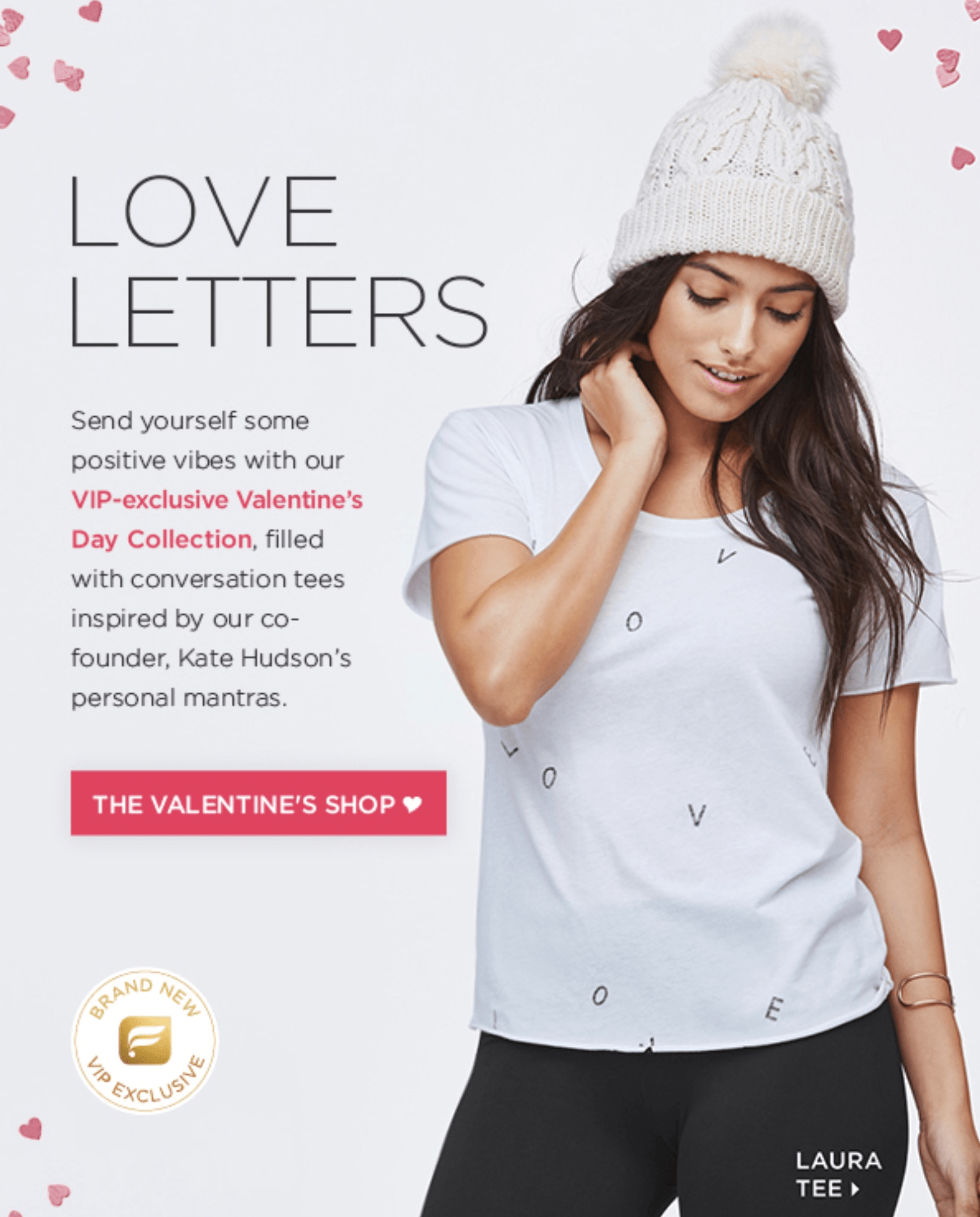 Fabletics Valentine's Day Collection Now Available!