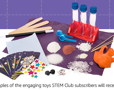 Amazon STEM Club Toy Subscription Box Available Now + Spoilers!