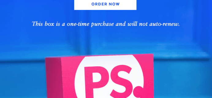Back Again – POPSUGAR Must Have Box Coupon: Save 40% on January!