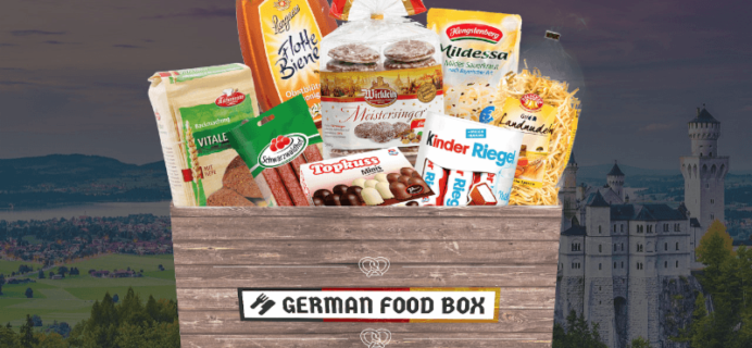 CORRECTION: 24 Hours Only Coupon: Save 25% on German Food Box!