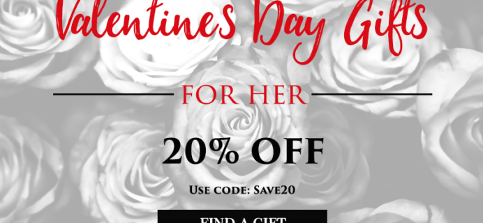 Taste Trunk Valentine's Day Sale: 20% Off Gifts for Her!