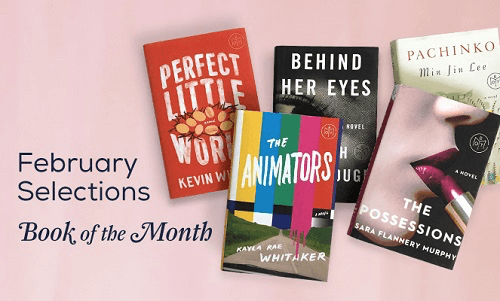February 2017 Book of the Month Selection Time + First Book $5