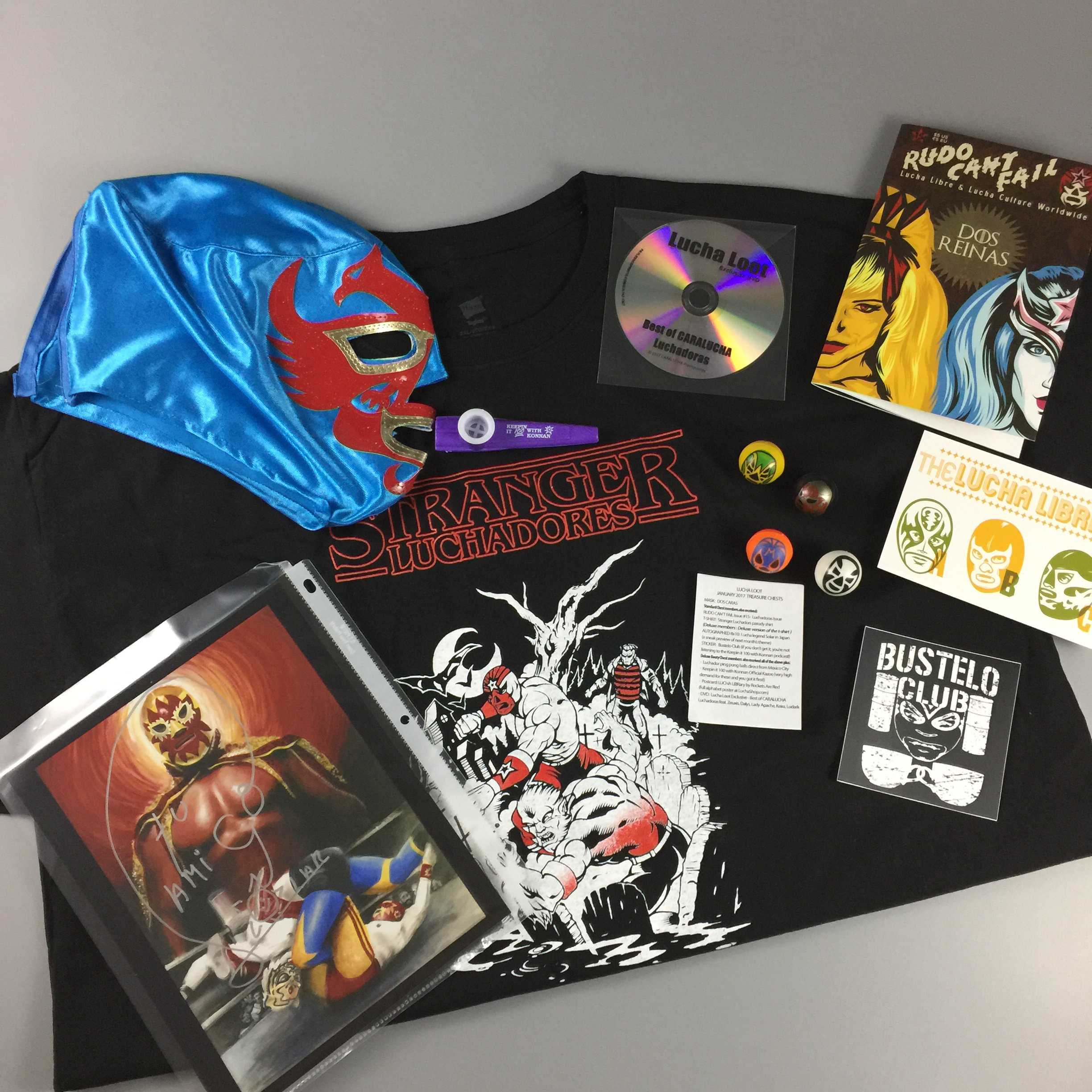 Lucha Loot Subscription Box Review & Coupon – January 2017